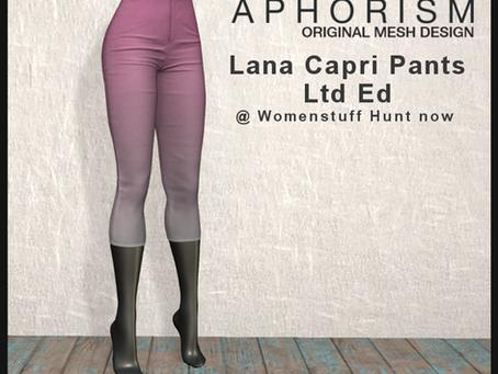 !APHORISM! @ Womenstuff Hunt