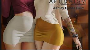 !APHORISM! Ashley Suede Skirt @ The Seasons Story