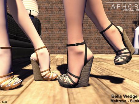 !APHORISM! Bella Wedge Sandals @ Indie Teepee