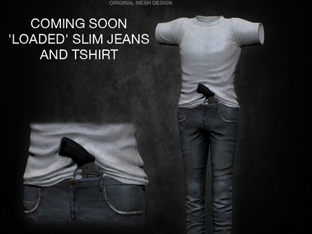 !APHORISM! Loaded Slim Jeans preview.