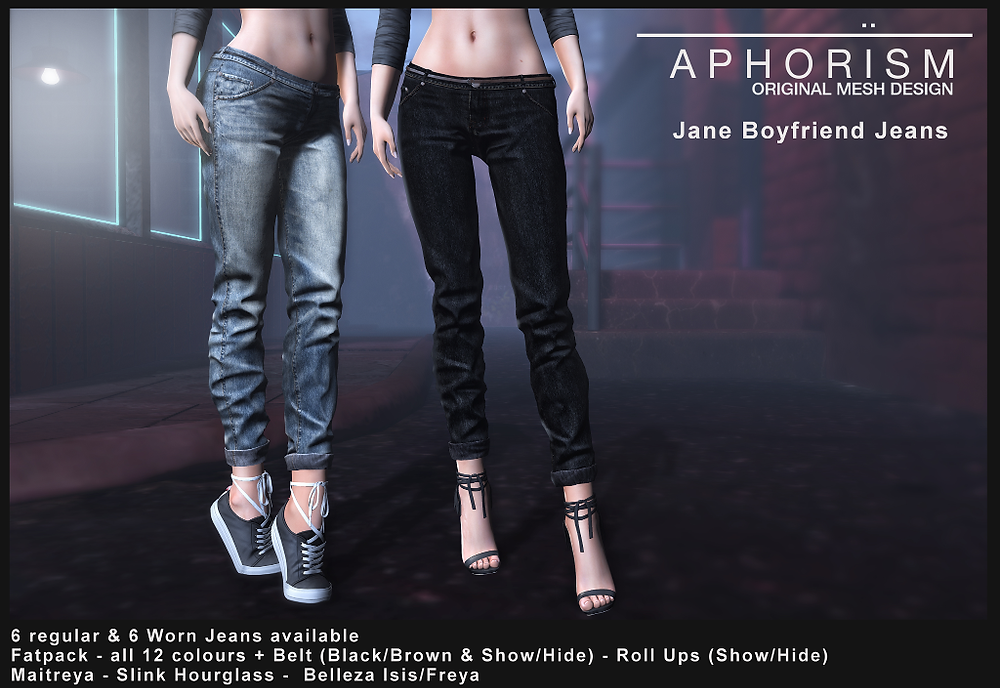 Aphorism BF Jeans Second Life