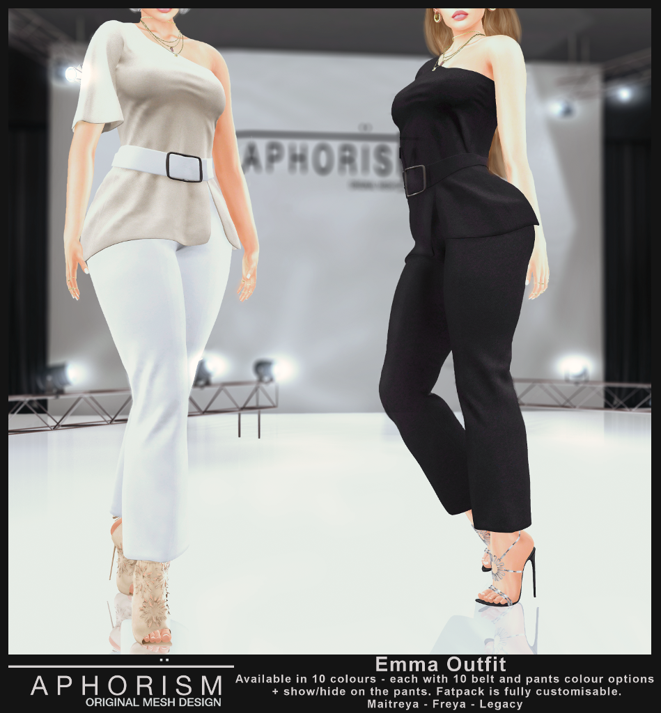 !APHORISM! Emma Outfit - Second Life