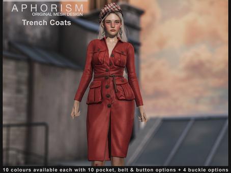 !APHORISM! Trench Coat *UPDATE*