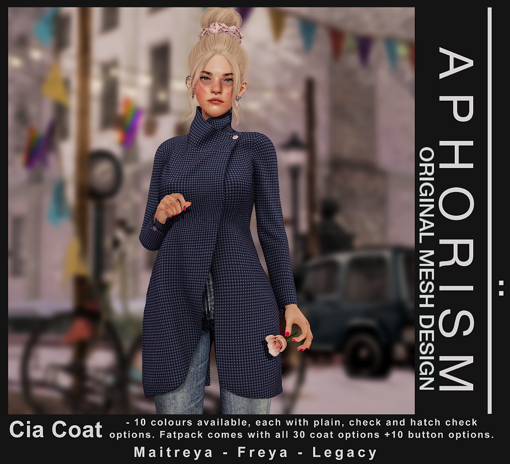 !APHORISM! Cia Coat - Second Life