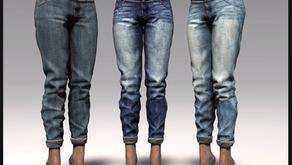 !APHORISM! Jane Boyfriend Jeans @ FaMESHed this September.