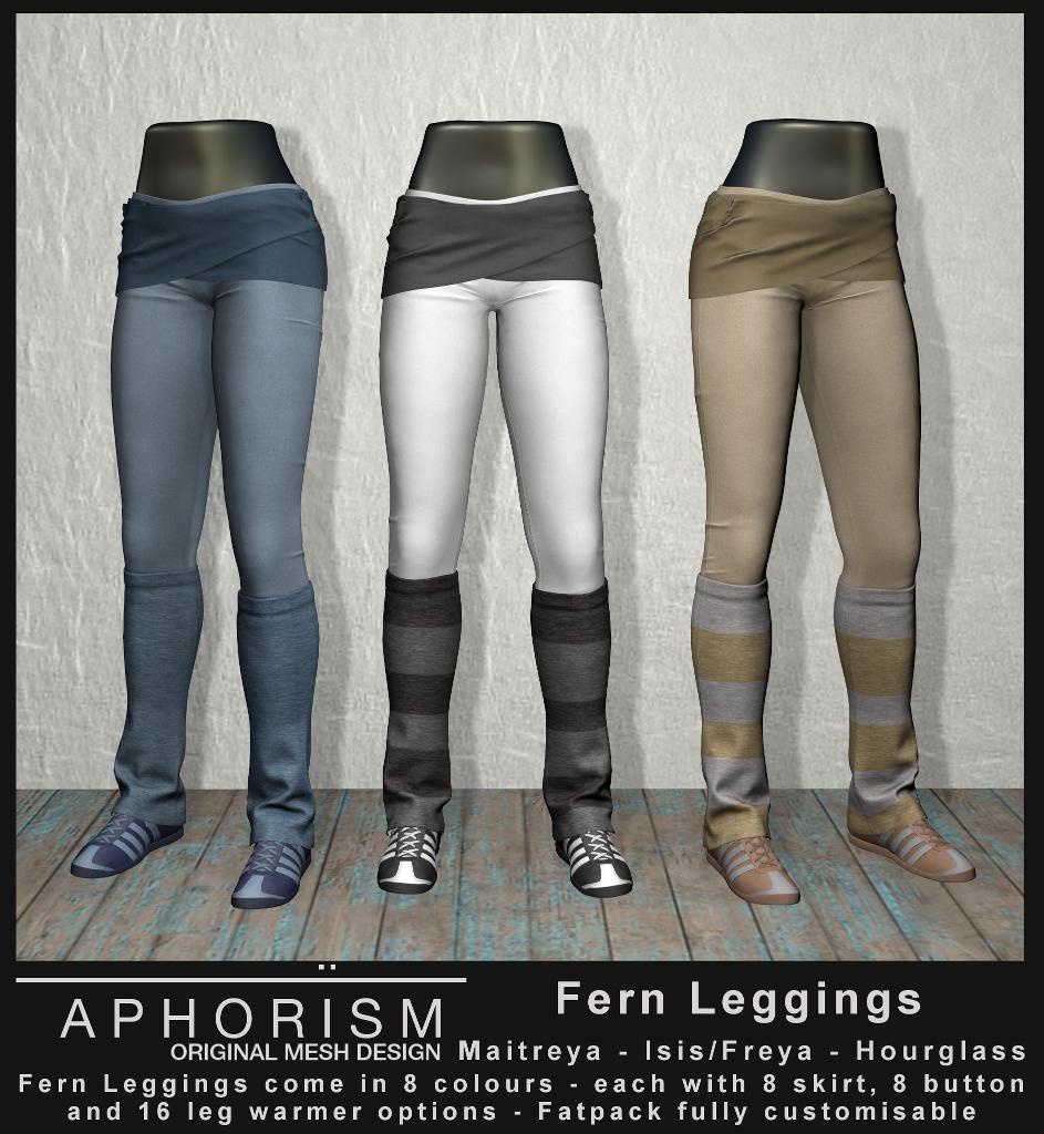 !APHORISM! Fern Leggings - Second Life
