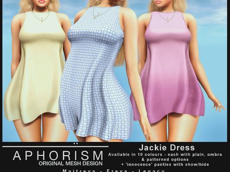 !APHORISM! Jackie Dress @ Kustom9