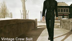 !APHORISM! Vintage Crew Suits @ The Mens Dept