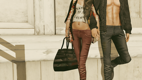 !APHORISM! Slim Jeans for men & women @ The Chapter Four