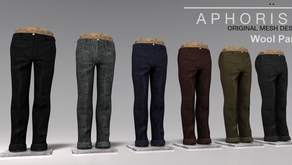 !APHORISM! Wool Pants Collection