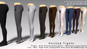 !APHORISM! Knitted Tights @ Shiny Shabby now!