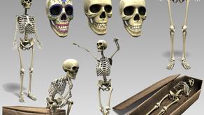 !APHORISM! Skeleton Collection @ Wayward Halloween