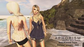 !APHORISM! Sun-Kissed Tops @ Indie Teepee - NOW OPEN