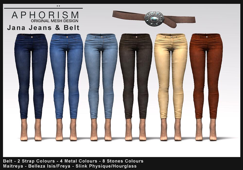 APHORISM Jana Jeans