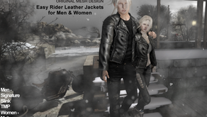 !APHORISM! 'Easy Rider' Leather Jacket for Women in the main store now!