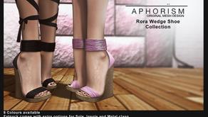 !APHORISM! Rora Wedge Shoes