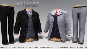 !APHORISM! Cassady Suit Collection @ TMD