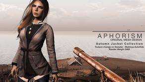 !APHORISM! Autumn Jackets Collection