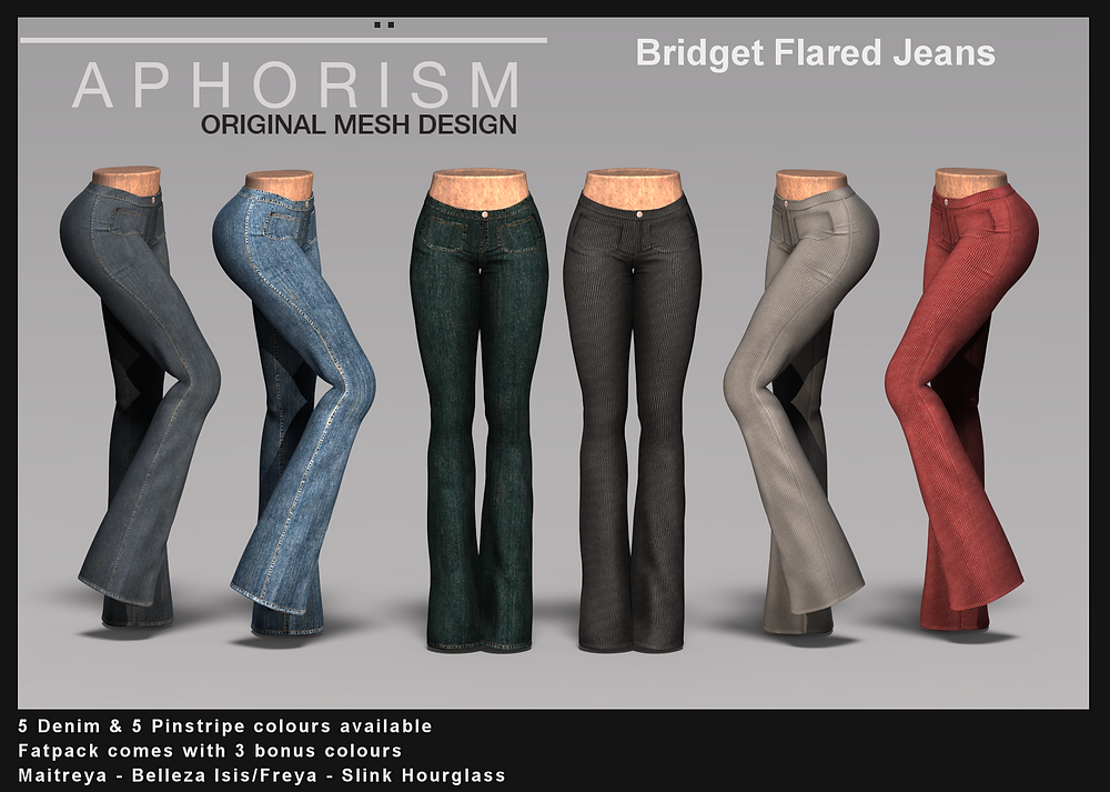 Aphorism Bridget Flares Second Life