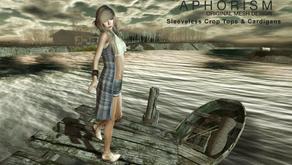 !APHORISM! Sleeveless Crop Tops & Cardigans @ The Seasons Story