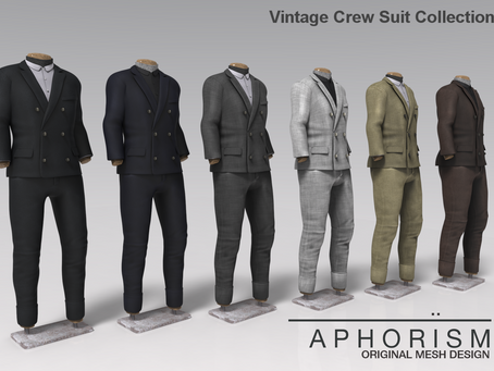 !APHORISM! Vintage Crew Suits full collection