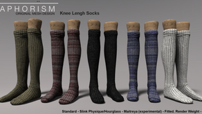 !APHORISM! Knee Length Socks & Group Gift