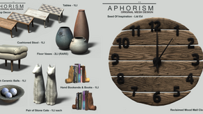 !APHORISM! Thrift Shop Decor
