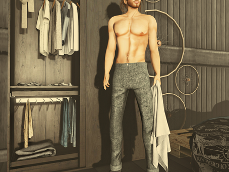 !APHORISM! Wool Pants @ Men Only Monthly Feb