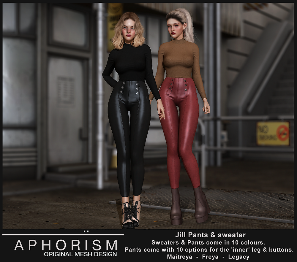 !APHORISM! Jill Outfit - Second Life