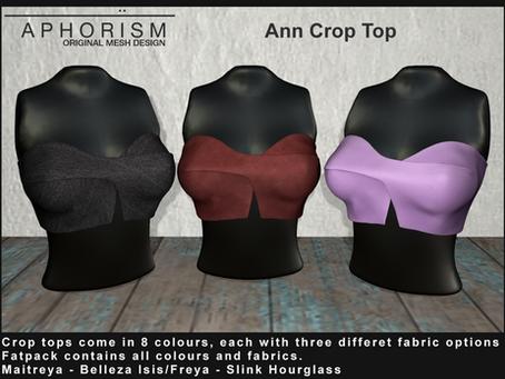 !APHORISM! Ann Crop Top @ Fameshed