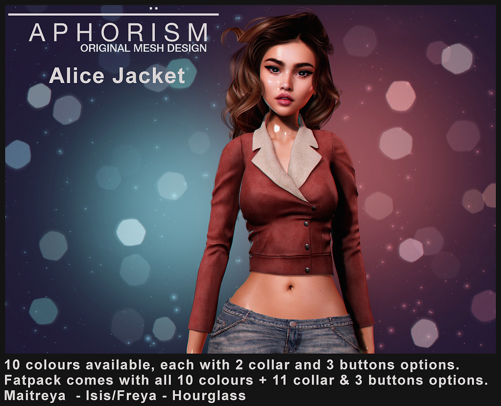 !APHORISM! Alice Jacket - Second Life