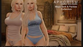 !APHORISM! Maya Tank & Panties.