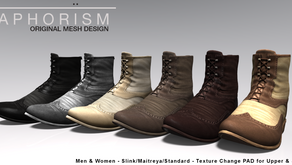 !APHORISM! Brogue Boots @ TMD