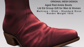 !APHORISM! Ankle Boots Update & Ltd Ed Group Gift!