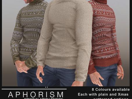 !APHORISM! @ Zak Sweaters @ TMD