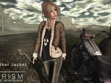 !APHORISM! Vintage Leather Jacket