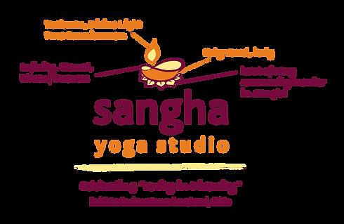 Sangha Yoga logo meaning