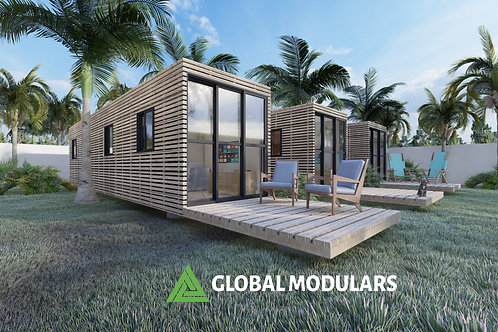 1C Prefabricated Modular Design Container House 320 SQF