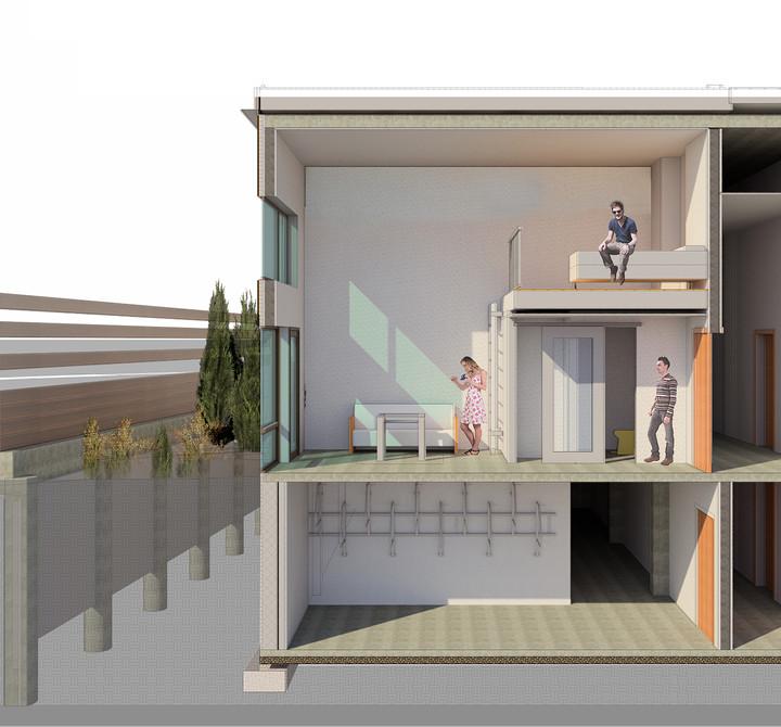 Prefabricated House Inside