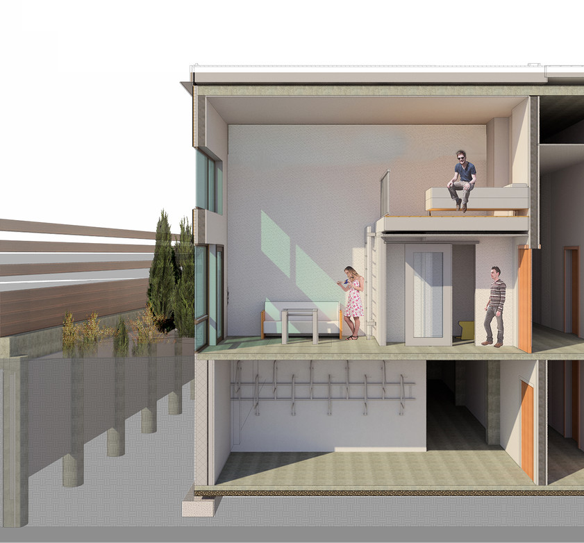 Prefabricated House Inside