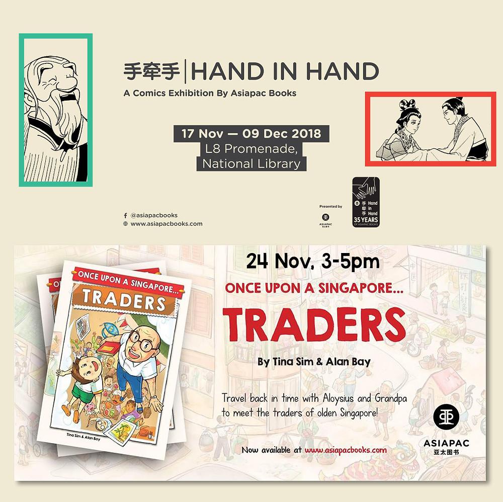 sgcomics, Once Upon A Singapore... Traders now at kinokuniya,