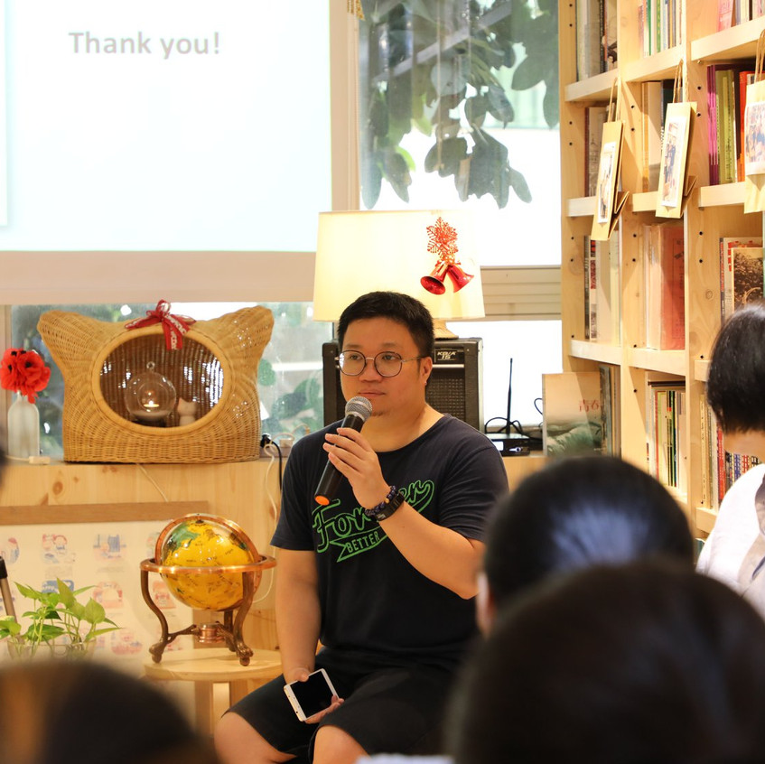 Once Upon A Singapore... Traders, sharing session at City Book Room. Why so serious? lol