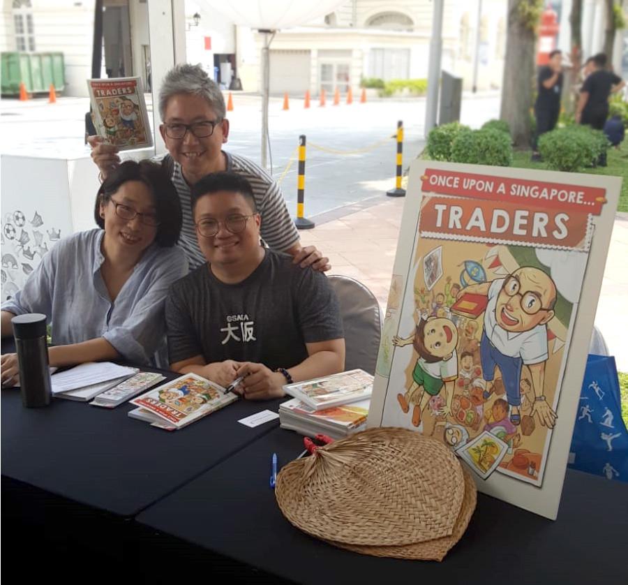 Book launch at Singapore Writer Fest!