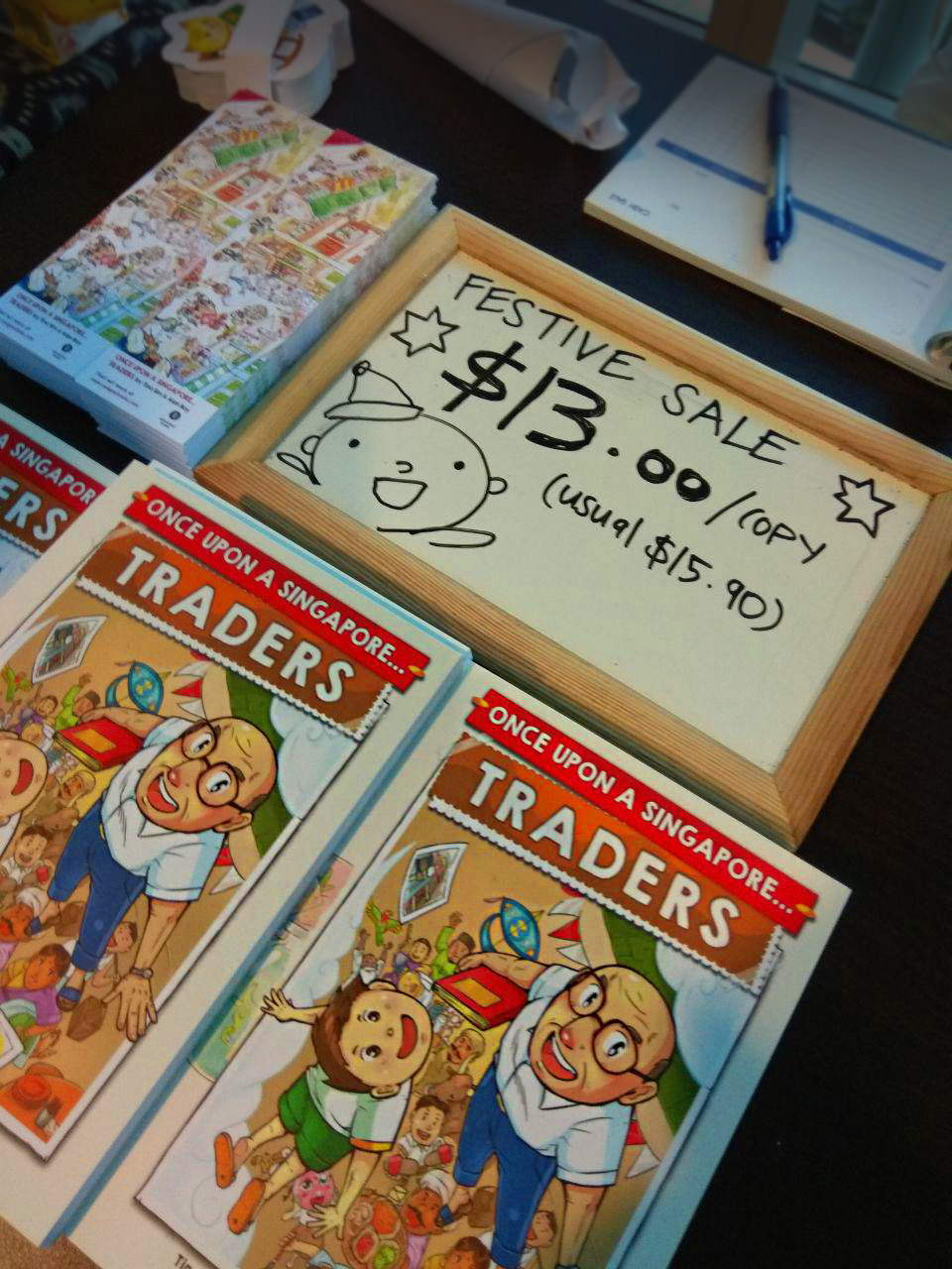 Once Upon A Singapore... Traders by Asiapac Books 22% off