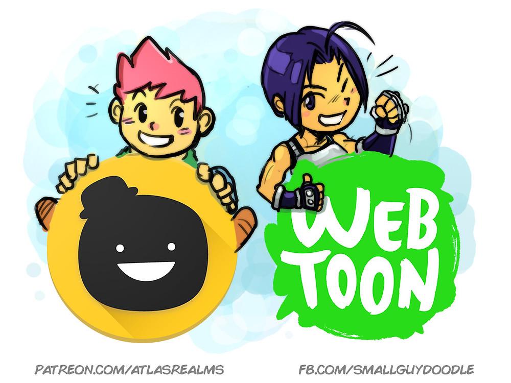 Atlas BITS on Tapastic and Webtoon!