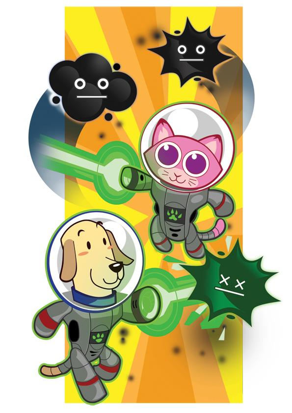 Dog & Cat promo artwork