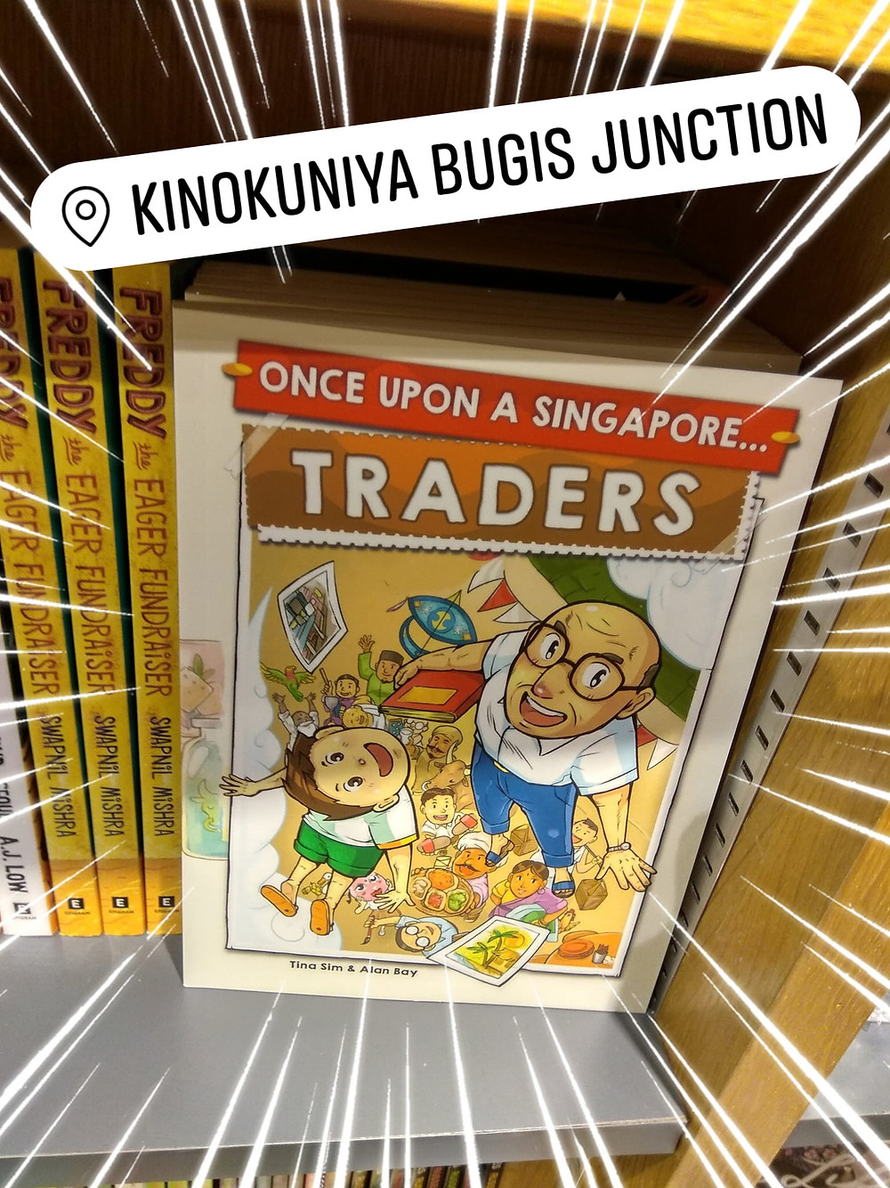 sgcomics, Once Upon A Singapore... Traders now at kinokuniya,