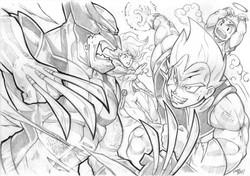 Wolverine vs Vegeta