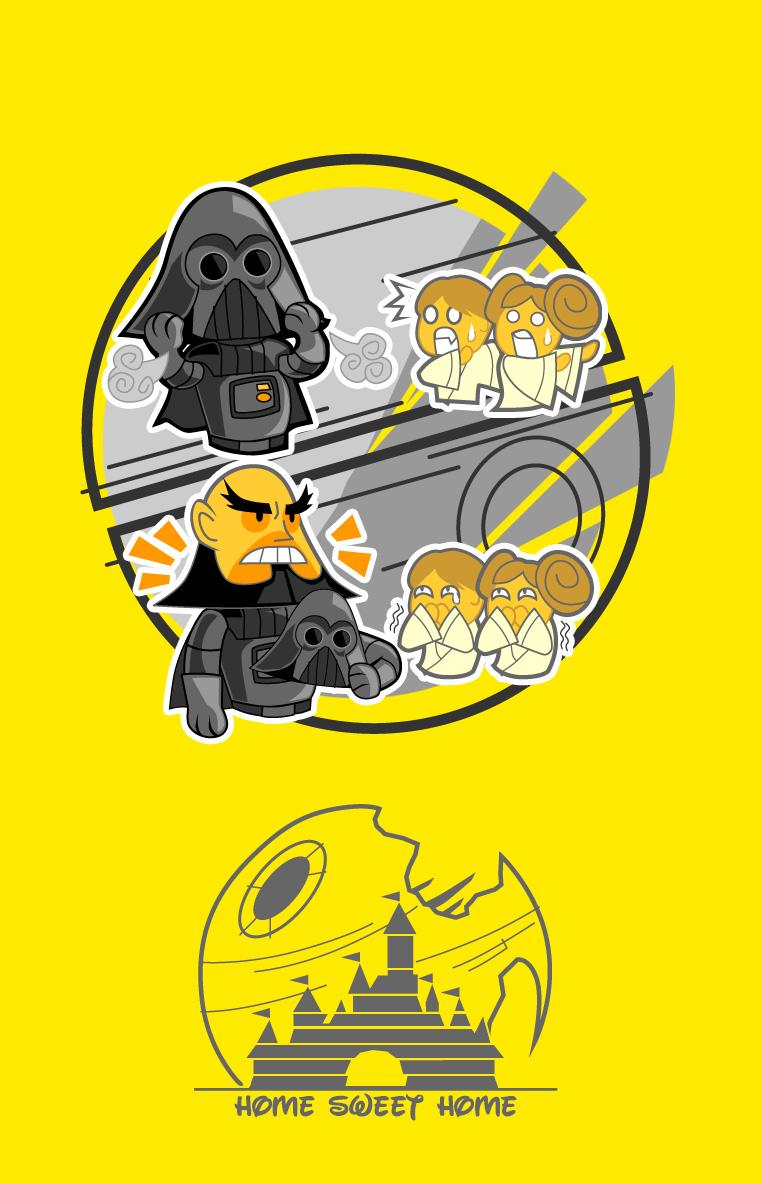 Sunburn Vader