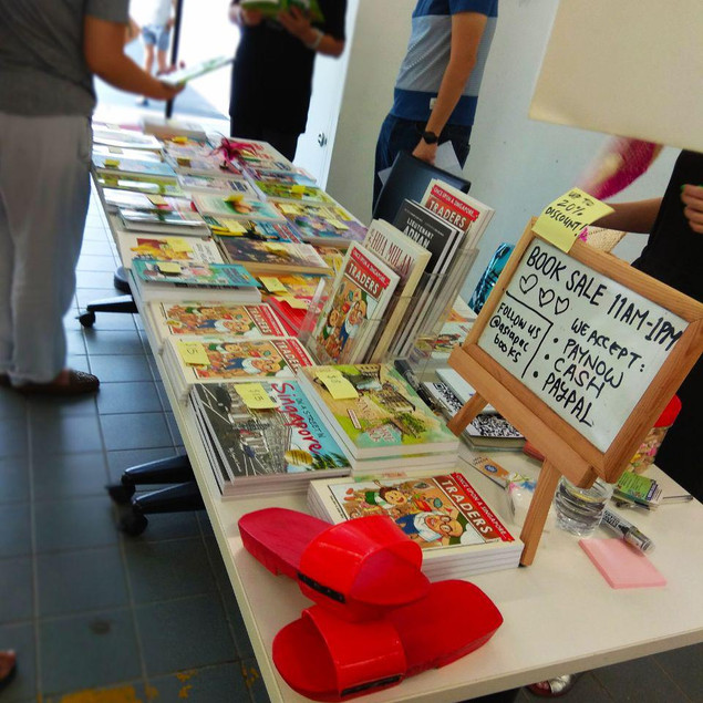 The kids and parents were very receptive of the books